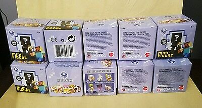 MOJANG LOT Of 10 MINECRAFT Ice Series 5  BLIND BOX 1