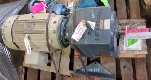 Falk Ultramite 09UCBN2A20AIE Gear Reducer w/15hp motor 20.59 Ratio 19.10HP New