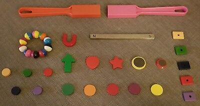 Spannendes MAGNET-SET mit 34 Teilen - perfekt für Kinder zum Experimentieren!