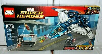 LEGO Marvel Super Heroes The Avengers Quinjet City Chase (76032) Ultron Vision