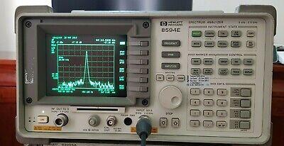 Hp Agilent 8594e 2.9 Ghz Spectrum Analyzer Tracking Generator 10