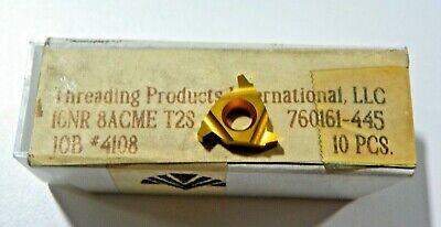 10 Pieces Tpi 16nr 8acme T2s Carbide Inserts  H385