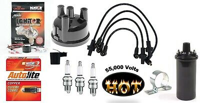 Electronic Ignition W Hot Coil Tune Up Kit Ford 2310 2610 2910 3600 3610