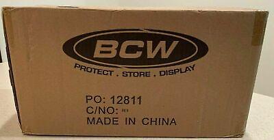 BCW 3x4 Standard Toploader Card (1000) 40 packs Sealed Case Top Loaders