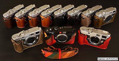 LUIGI PREMIUM CASE,GRIP MODEL for FILM LEICA M2-M3-M4-M6-M7-MP-M-A,UPS INCLUDED (Film-leica)