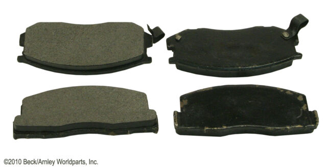 Front Brake Pad Set Fits Toyota Starlet & Tercel (Set of 4)  082-1140