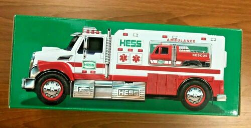 2020 Hess Toy Truck Ambulance and Rescue Brand New Ready for Shipping