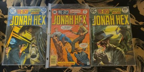 All Star Western  👀  ISSUE  #10     1st app. Jonah Hex  #16  18  20  28  37