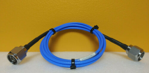 Pasternack PE302-60, DC to 18 GHz, Type N (M-M), RF Test Cable, Tested!
