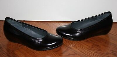 Valentine Wedge - NEW Womens $299 Wolky Valentine Black Midland Patent Leather Wedges Shoes Sz 40