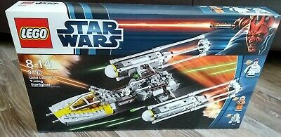 Lego Star Wars 9495 Gold Leader's Y-wing Starfighter, New Sealed, Mint Box