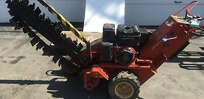 Ditch Witch 1330 Trencher Walk Behind Trench Digger Tool Trenching Machine Used