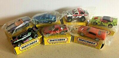 Matchbox 7 Vehicle Car Truck Lot 1993-1995 All NM-Mint in Box