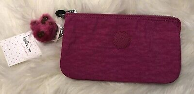 Kipling Creativity Large Pouch Very Berry AC2084 NWT $29