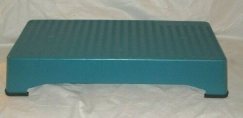 The Firm Transfirmer Aerobic Exercise Teal Green Step Stepper All 4 Rubber Feet