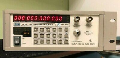 Eip 28b 12 Digit Microwave Frequency Counter 10hz To 26.5ghz Opt 05