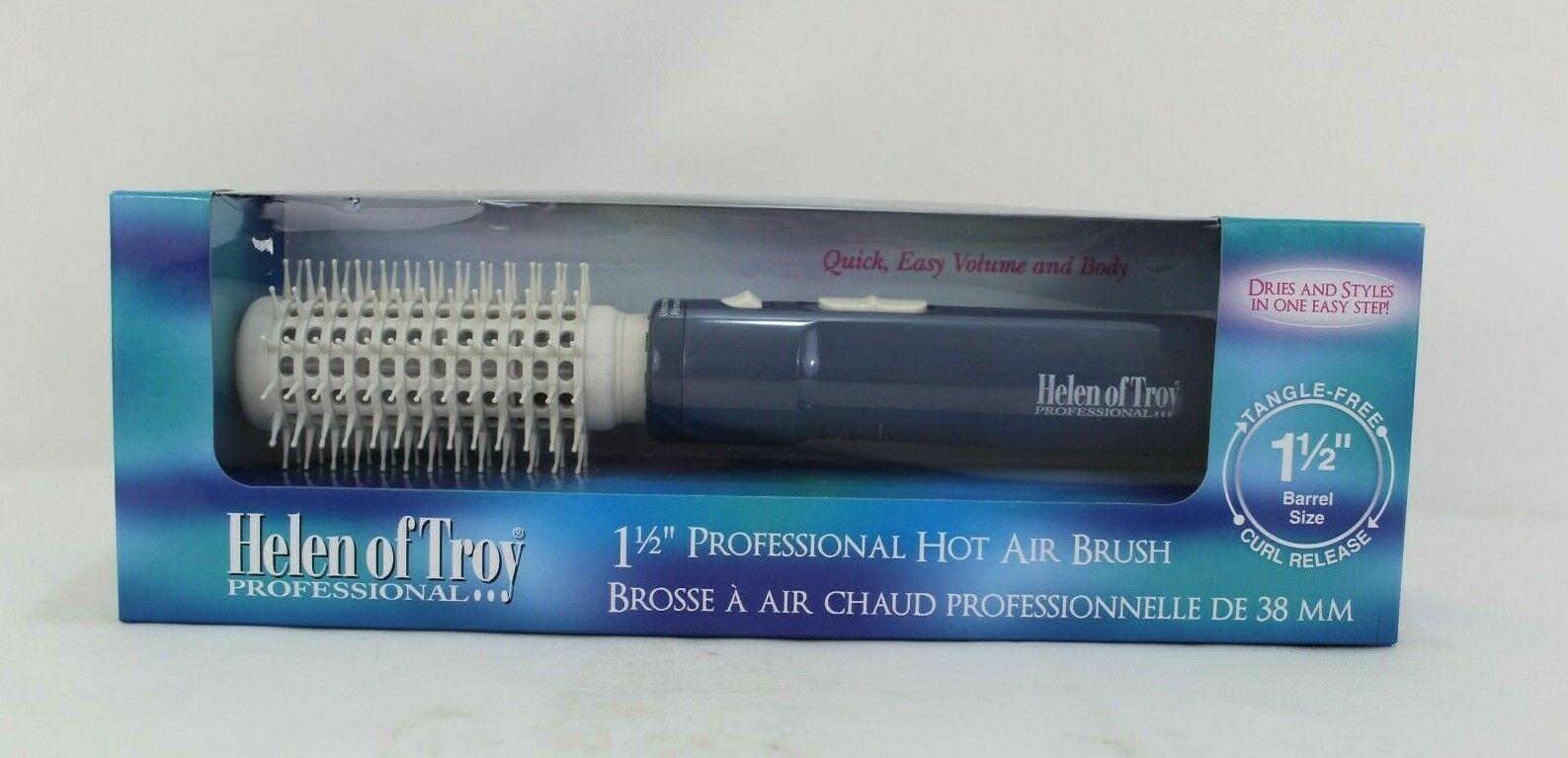 Helen of Troy 1573 Tangle Free Hot Air Brush, White, 1 1/2 I