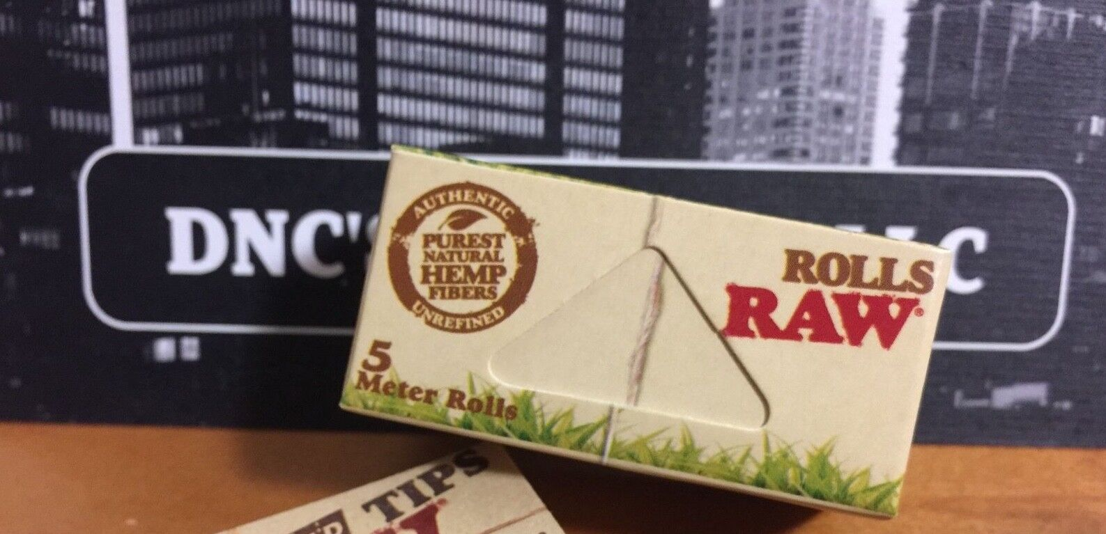 Raw Organic Hemp 5 Meter Rolls Natural Unrefined Hemp Rolling Papers