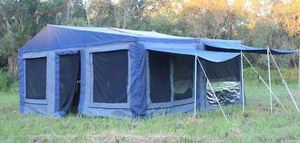 New Dingo Light Off Road Camper Trailer with Huge Tent and Annexe Dandenong South Greater Dandenong Preview