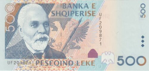Albania 500 Leke Banknote 2001 Choice Uncirculated Condition Cat#68