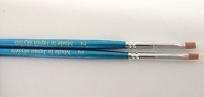10pcs Skyists Dental Porcelain Brush Pen 2 Dental Lab Equipment Made In Japan