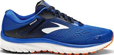 Brooks Adrenaline GTS 18 WIDE FIT Mens Running Shoes - Blue