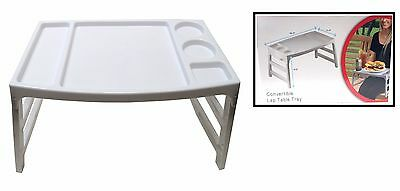 Convertible Foldable Lap Table Tray Multiple Use ...