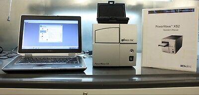 Biotek Powerwave Xs Absorbance Microplate Reader Laptop Turn Key System Extras