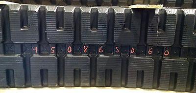 2-tracks Caterpillar Rubber Track Cat 279c 289c 299c 299d 450x86x60 4508660