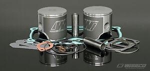 Wiseco Top-End Gasket & Pistons kit Ski-Doo 453 Engine Type MXZ 440 1999-03