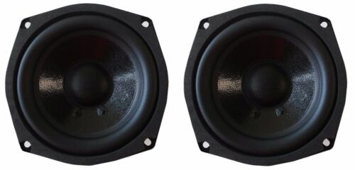 "NEW Pair (2) 5.25"" inch Ultra Bass Mini Subwoofer speaker woofer set 400w 8 ohm"