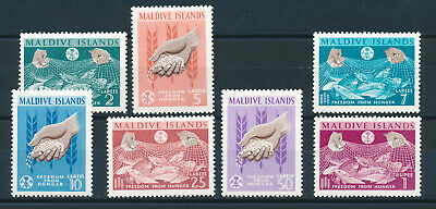 MALDIVE ISLANDS 1963 FREEDOM FROM HUNGER  MNH