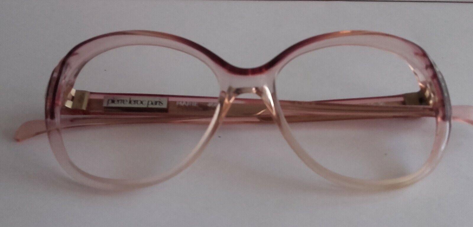 Monture lunettes pierre leroc - vintage annÉe 70/80 - m-pl3b