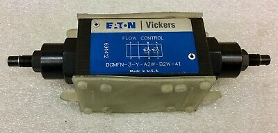 Vickers Dgmfn-3-y-a2w-b2w-41 Flow Control Valve 694412 New No Box