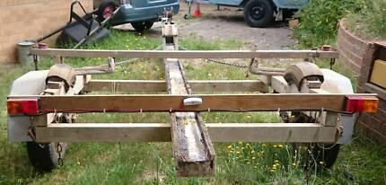 Hartley TS16 Wooden Boat Trailer for sale