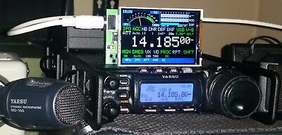 "CatDisplay DIY KIT Yaesu FT-817 FT-818 FT-857 FT-897 3.5"" TFT, used for sale  Shipping to Canada"