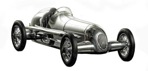 "1934 Silberpfeil W 25 Mercedes Benz Silver Arrow Model 12"" Formula Racing Car"