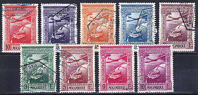 MOZAMBIQUE - C1 - C9 - COMPLETE USED SET - LOOK!