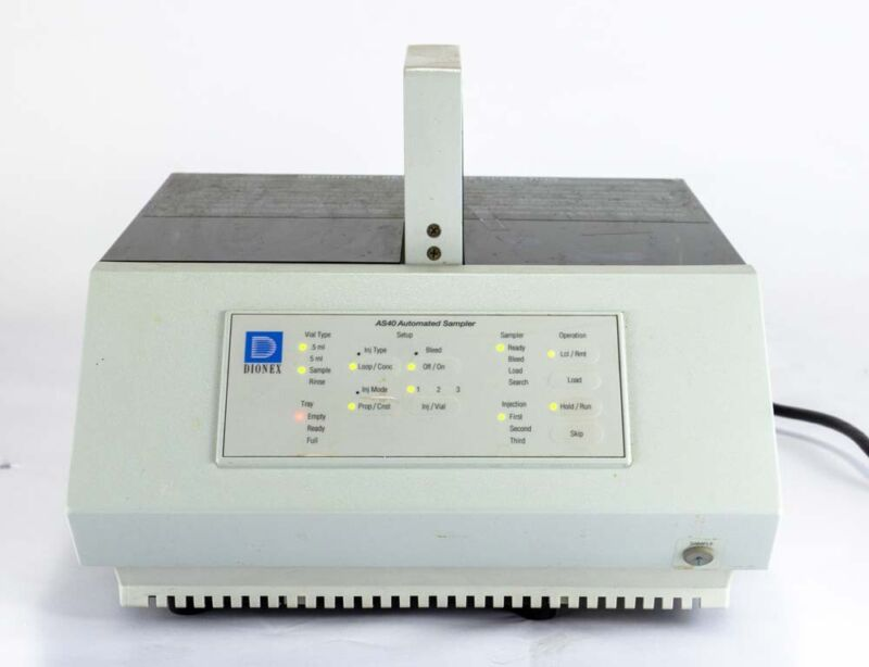 Dionex AS40 Automated Sampler for Ion Chromatography