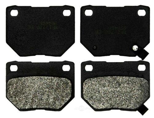 Disc Brake Pad Set-Semi Metallic Disc Brake Pad Rear ACDelco Pro Brakes