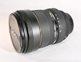 Sigma EX DG HSM 12-24mm Canon fit Zoom Lens - Mk1