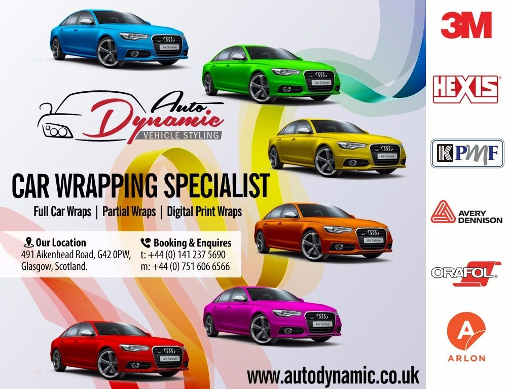Vehicle Car Vinyl Wrapping Offer Full Vehicle From