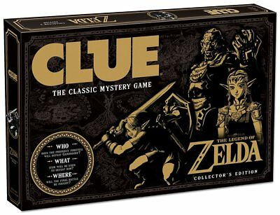 Clue The Legend of Zelda Edition Board Game