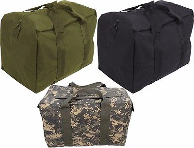 - Rothco GI Style Enhanced Military Tactical Camo Air Force Crew Bag