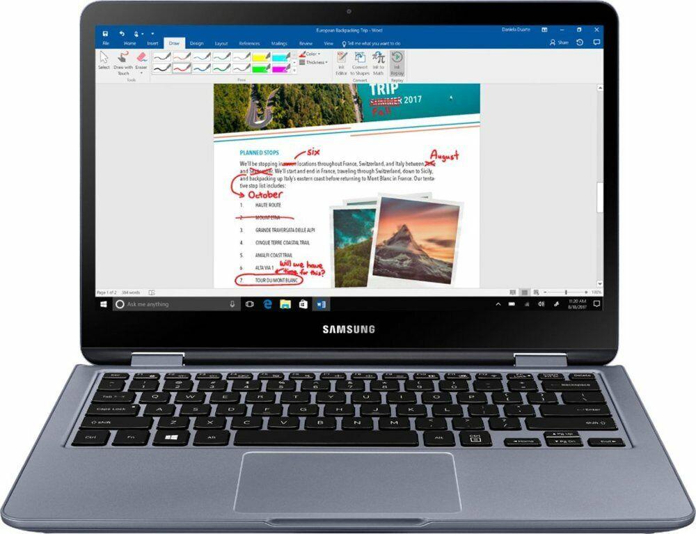 Samsung Notebook 7 Spin NP730QAA - 13.3 FHD Touch - 8Gen i5-