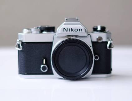 NIKON FM Chrome Top Camera Film Body