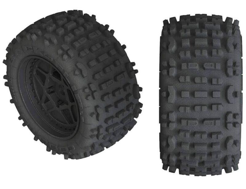 ARRMA dBoots Backflip LP 4S Mounted Tire Set (2) AR550050