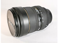 Sigma EX DG HSM 12-24mm Canon fit Zoom Lens - Excellent condition with UV Filter