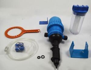 Fertilizer Injector Proportion 0.4%:4%  Pump water  (Item# 188003)