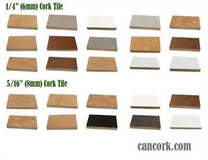 Waterproof Cork Flooring Tiles For Bathrooms / Kitchens- Order Free Sample Today